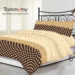 Tommony Sprei motif Batik Polkadot