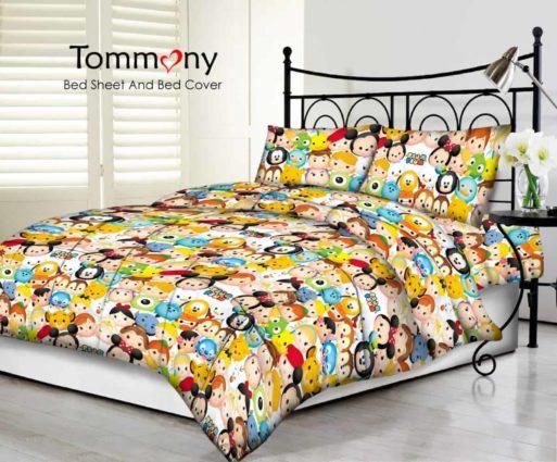 Tommony Sprei motif Tsum Tsum